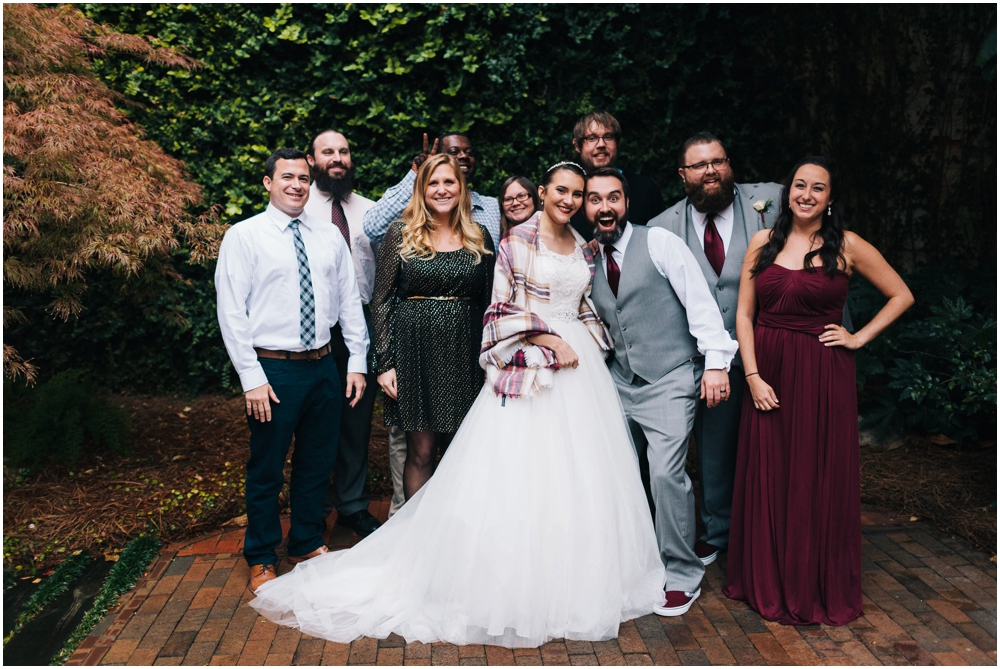 The Atrium by Ligon Flynn Wedding