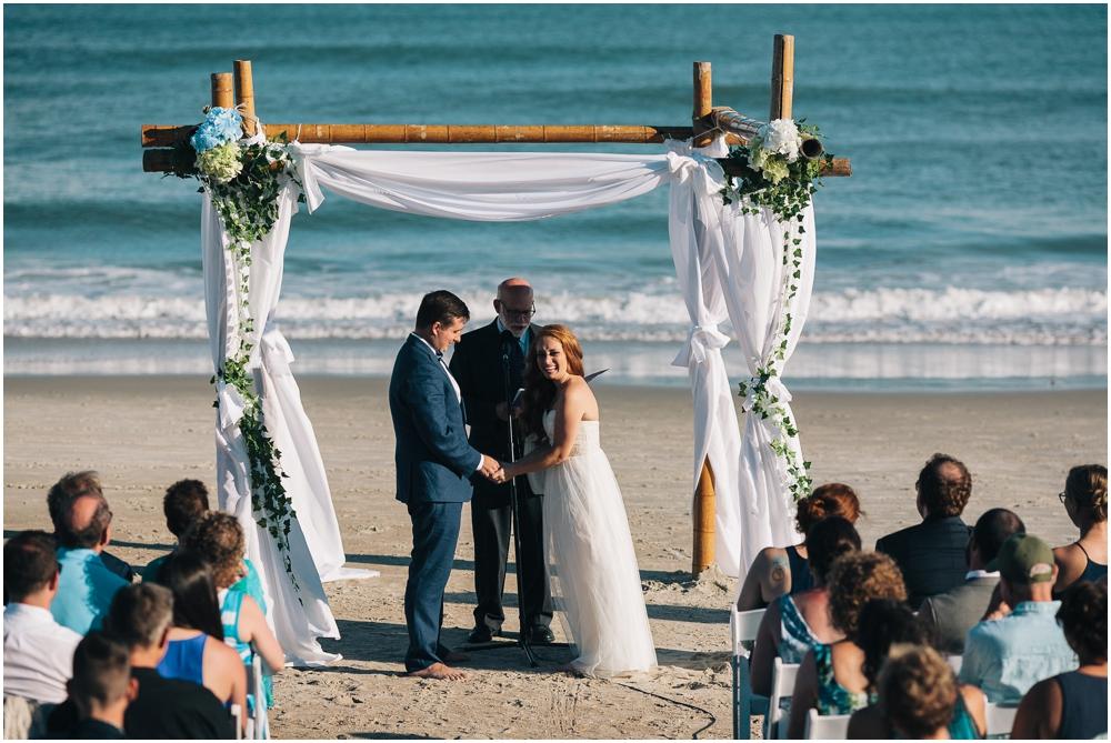 Topsail Beach Wedding